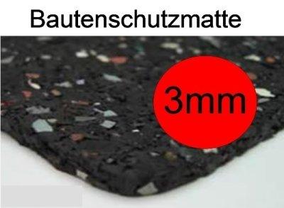 Bautenschutzmatte Dicke 3mm