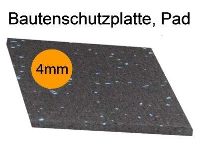 Bautenschutzplatte, Pad, Dicke 4mm