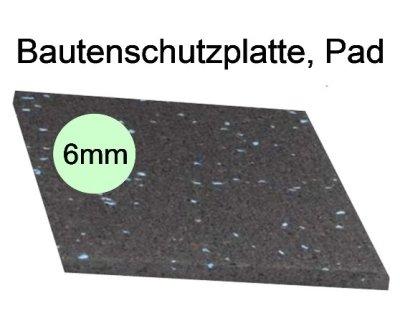 Bautenschutzplatte, Pad, Dicke 6mm
