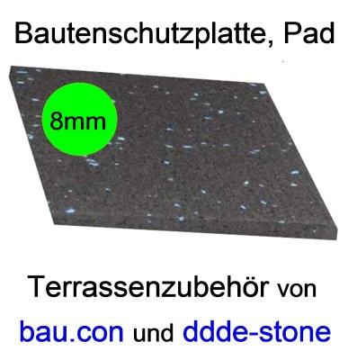 Bautenschutzplatte BPM8, Dicke 8mm