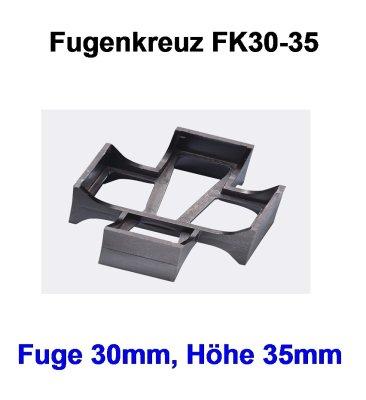 Rasenfugenkreuz FK30-35 Fuge 30mm-Höhe 35mm