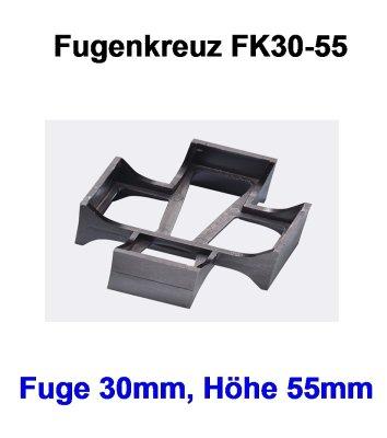 Rasenfugenkreuz FK30-55-30mm-55mm