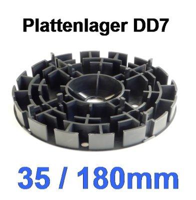 Plattenlager DD7, Höhe 35mm