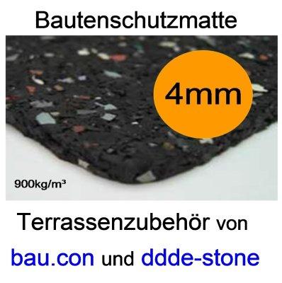 12 5m bautenschutzmatte bm gummimatte 1 25 x 10m 6mm f r holzterrassen ebay. Black Bedroom Furniture Sets. Home Design Ideas