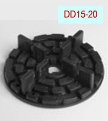 Plattenlager DD15-20-Höhe-10mm-Durchm.-150mm