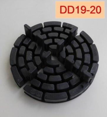 Plattenlager- DD19-20-Höhe-20mm