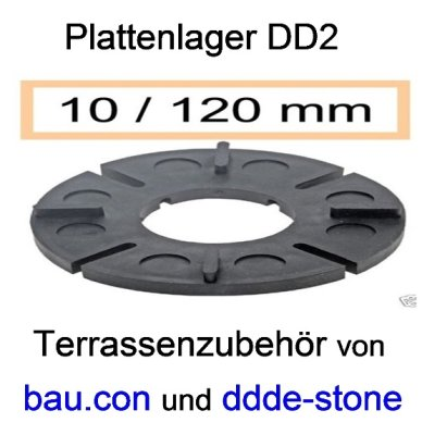 bau.con-plattenlager-dd2-höhe-10mm