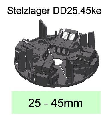 Stelzlager DD25.45ke