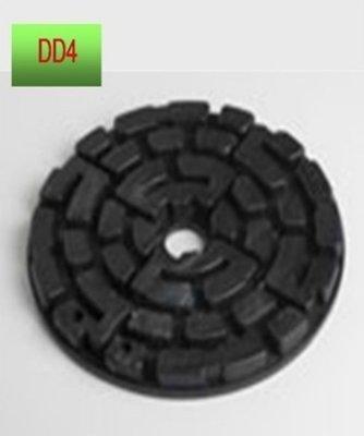 Plattenlager DD4 Höhe 10 mm Durchm. 120mm ohne Fugenkreuz