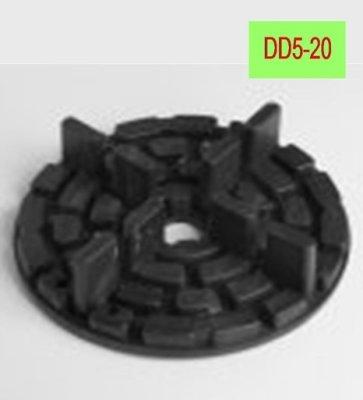Plattenlager DD5-20 Höhe 10mm Steghöhe 20mm