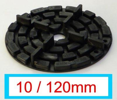 Plattenlager DD5-10 Fuge 4mm