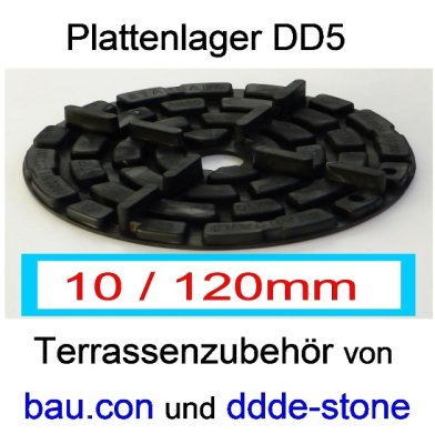 bau.con-plattenlager-dd5-höhe-10mm