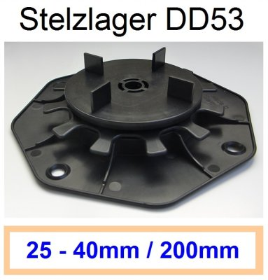 dd53-stelzlager-höhenverstellbar-25mm-40mm