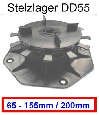Stelzlager-DD55-Höhe-65-155mm