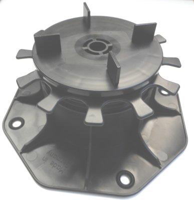 Stelzlager DD55 Höhe 65-155mm
