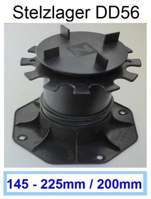 Stelzlager-DD56-Höhe-145-225mm