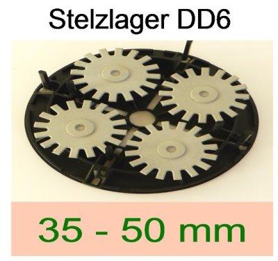 bau.con-Stelzlager DD6-Höhe-35-bis-50mm