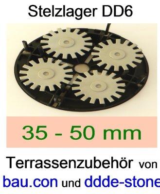 bau.con-Stelzlager-DD6-Höhe-35-50mm-höhenverstellbar