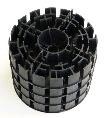 Plattenlager DD7 4-fach gestapelt