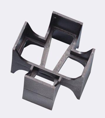 Rasenfugenkreuz-Fuge-30mm-Höhe-55mm